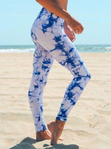 tie dye workout pants | athletic yoga leggings | sassy shortcake