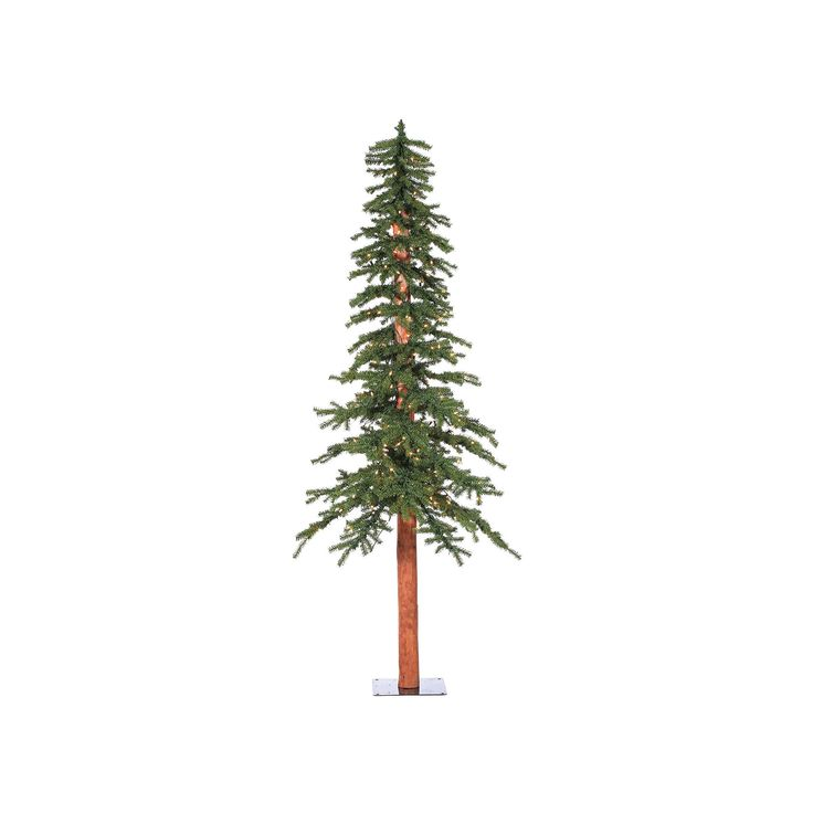 Vickerman 8-ft. Pre-Lit Natural Alpine Artificial Christmas Tree, Green