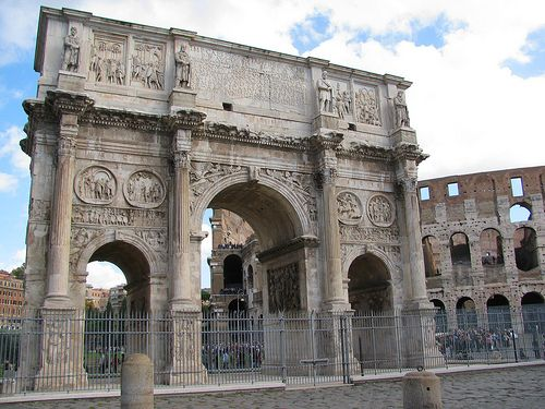 Arch of Constantine, Rome, October 2010