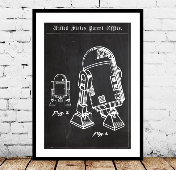 Star Wars R2D2 Droid Patent, Star Wars R2D2 Droid Poster, Star wars, r2d2, Star wars poster, Star wars art by STANLEYprintHOUSE  1.00 USD  We use only top quality archival inks and heavyweight matte fine art papers and high end printers to produce a stunning quality print that's made to last.  Any of these posters will make a great affordable gift, or tie any room together.  Please choose between different sizes and col ..  https://www.etsy.com/ca/listing/244156882/star-wars-r2d2-d..