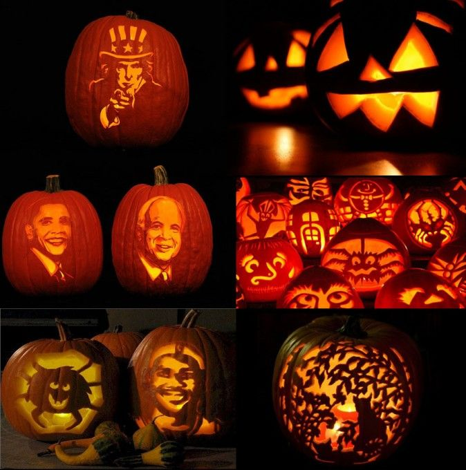 cool pumpkin designs cool halloween pumpkin carving ideas 674x680 19 55288 home - Cool Halloween Designs