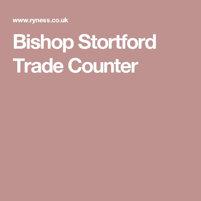 Bishop Stortford Trade Counter