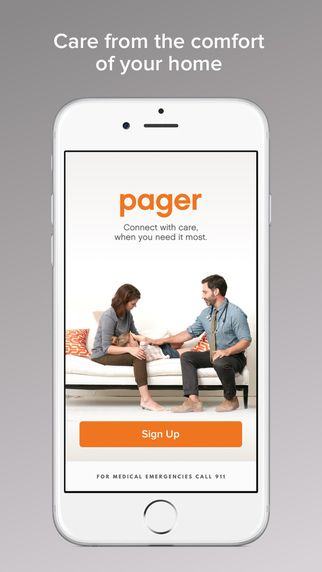Pager - Talk with doctors and nurses immediately for urgent care needs by Pager, INC.