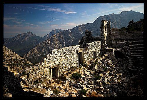 Termessos - Antalya, Turkey