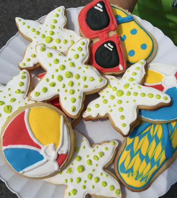 Summertime sugar cookie mix by Kris Hoffer