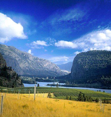 BC Okanagan Falls Winery Canada