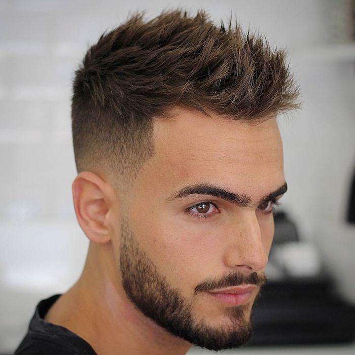 Anleitung Ntzliche Undercut Frisuren Brauner Stylen Ideen Kurze Haare Tipps Farbe Mn Mens Haircuts Short Short Hair Hairstyle Men Thick Hair Styles