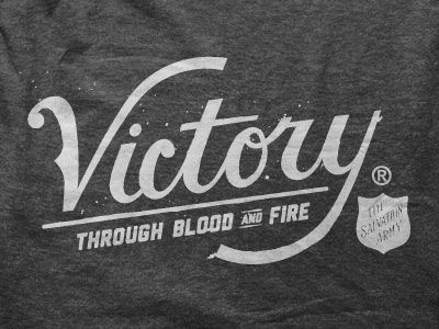 Victory. Salvation Army T-Shirt Design.