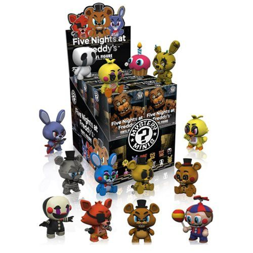 This is the Funko Five Nights at Freddy's Mystery Minis Vinyl Figure. They are here! These awesome figures are super detailed and fun to collect. FNAF's fans ar