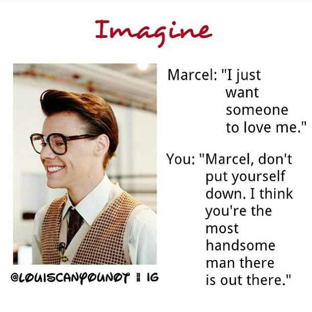 Marcel Styles Imagine | one direction luv