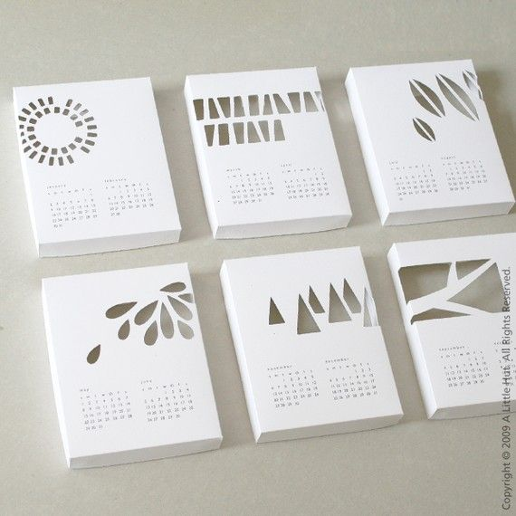 cool calendar/packaging idea