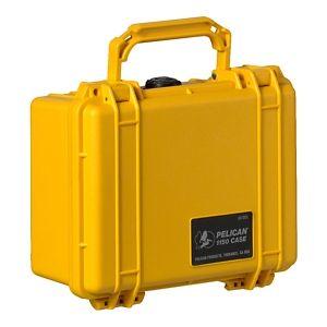 "Pelican Protector Watertight Equipment Case - 10.6 x 9.7 x 4.9"" - Yellow"