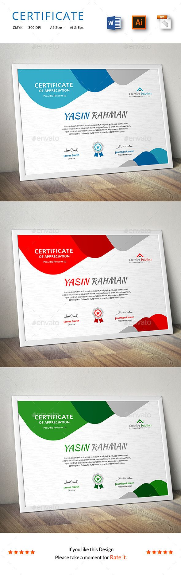 Certificate - Certificate Template Vector EPS, Vector AI. Download here: http://graphicriver.net/item/certificate/13886434?s_rank=100&ref=yinkira