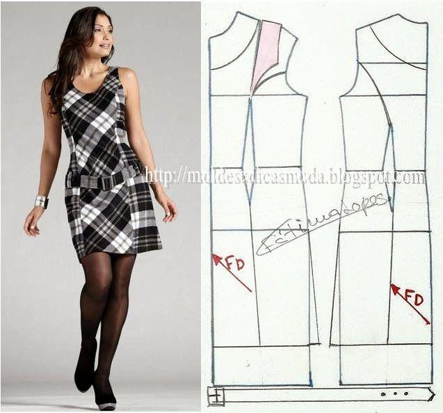 Tedbir için moda kalıplar: elbise-17 İŞLEME