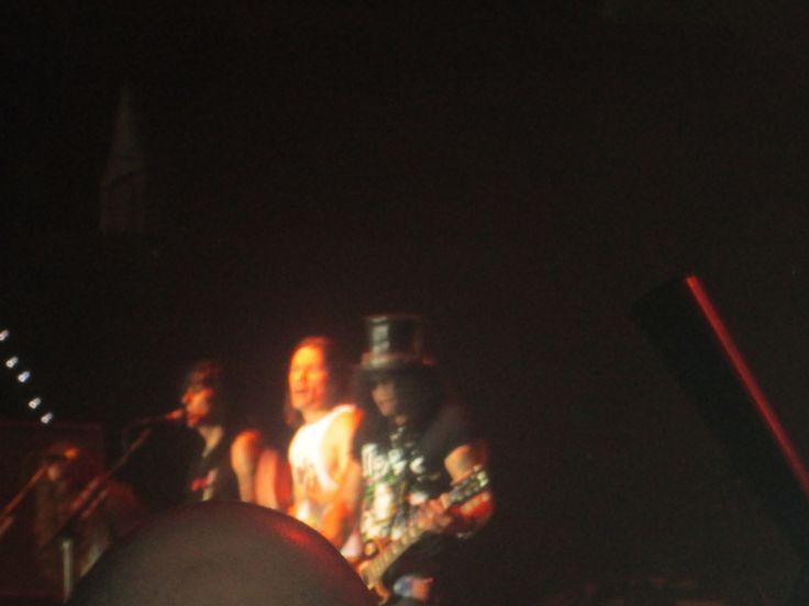 Frank, Todd, Myles and Slash