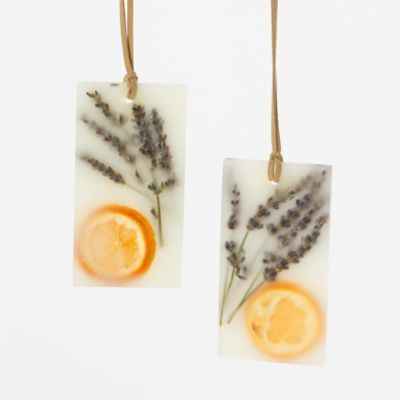 Pressed Flower Sachets, Lavender & Tangerine in House+Home COLLECTIONS Made In America at Terrain -  not sure how to make these but might be a fun project