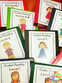 I often receive questions/emails about how I set up and manage my guided reading groups in my first grade classroom. I also receive questi...