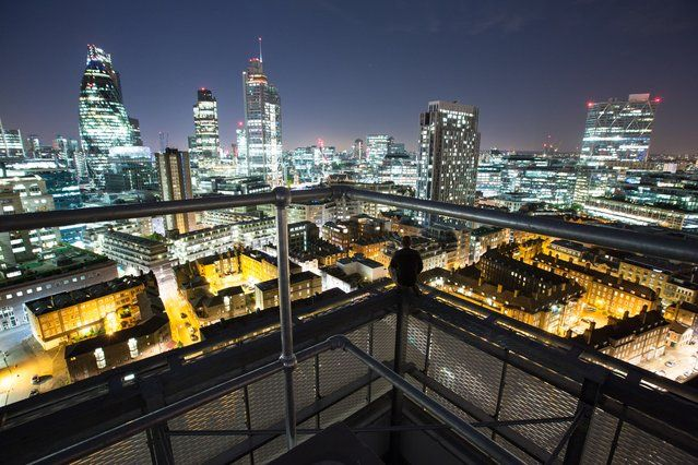 Denning Point, Aldgate | London From The Rooftops #piclectica
