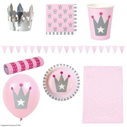 Köp Jabadabado Partypaket Prinsessa | Jollyroom