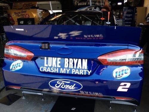 #2 promoting Luke Bryan's new CD, Michigan :)