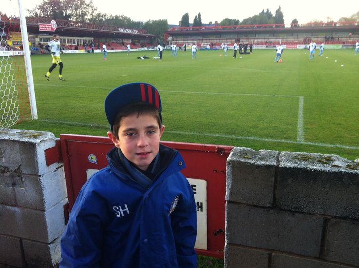 Accrington Stanley FC in Accrington, Lancashire