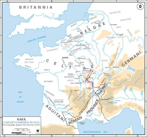 Best Gaul Gallic Wars Images On Pinterest Ancient Rome - Maps of us and anchent rome