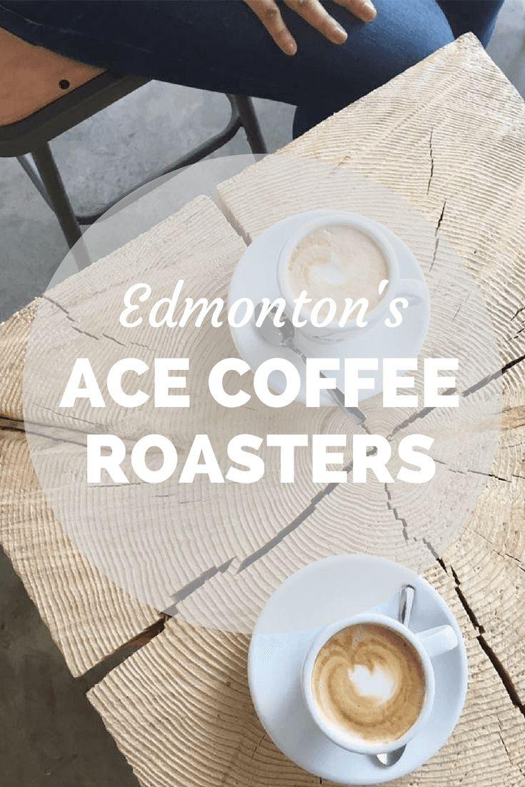 ACE COFFEE ROASTERS in Edmonton, Alberta, Canada. Local coffee shop.
