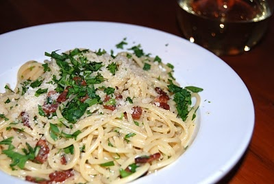 Carbonara. | [EAT IN] | Pinterest | Pasta, Dishes and Love This