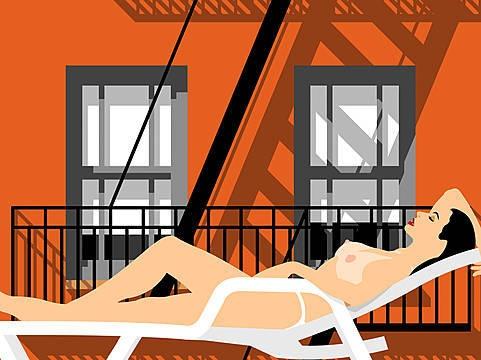 Rooftop - Peter  Stanick