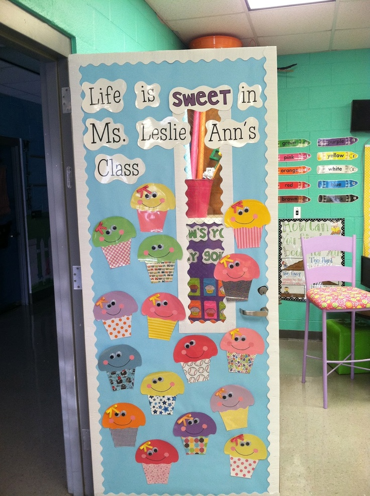 Classroom Decoration Cute : Best ideas about cupcake bulletin boards on pinterest