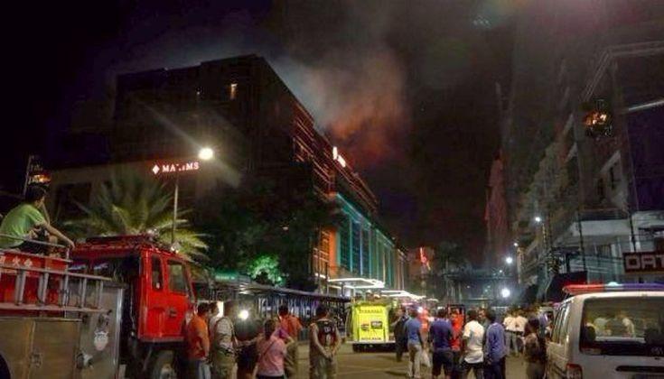 Incendió un casino, mató a 36 personas y se quemó a lo bonzo: Un hombre irrumpió en un hotel en Manila, Filipinas, roció nafta en una mesa…