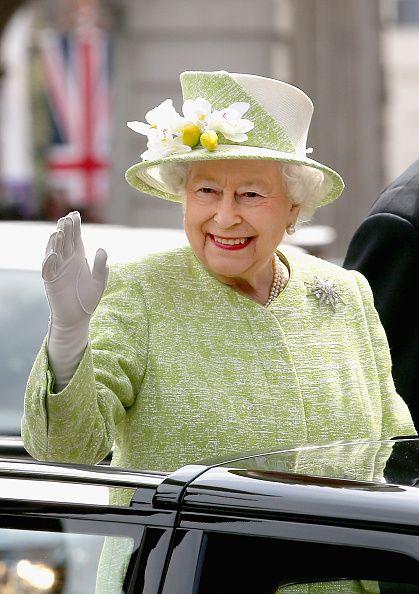 Queen Elizabeth II meets the public on her 90th Birthday Walkabout on April 21, 2016 in Windsor, England. Today is Queen Elizabeth II's ...