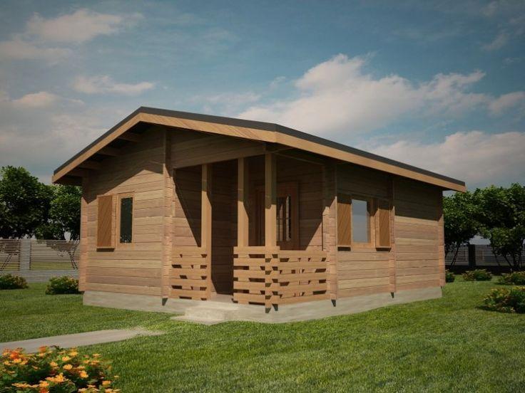 Houtskeletbouw Chalet Falticeni | Houten huis bouwen #timberhouses #housesforsale