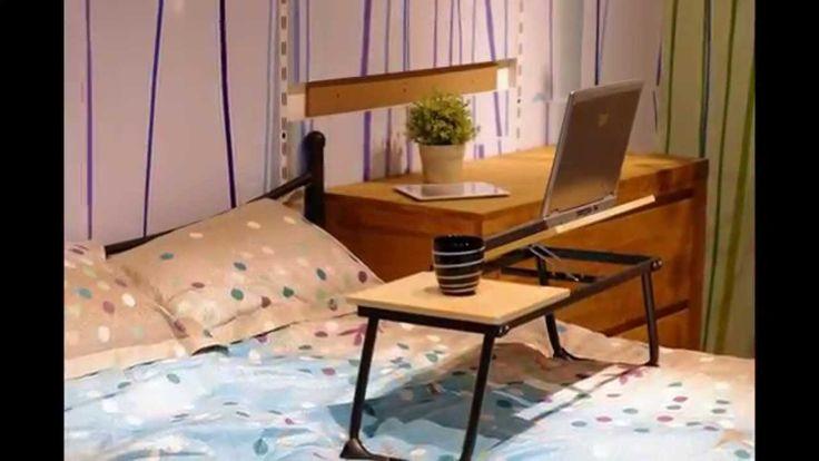 Laptop desk  bed sofa car garden -  Portable Folding Table For Laptop on bed beside bed table  - portable  lap...