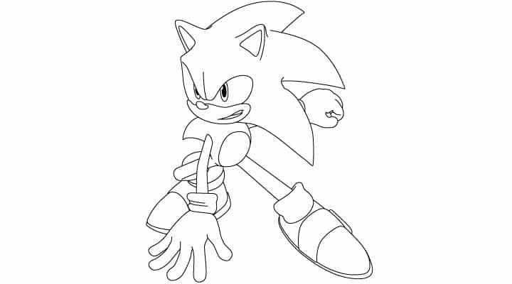 Comment dessiner Sonic - http://www.dessein-de-dessin.com/comment-dessiner-sonic/