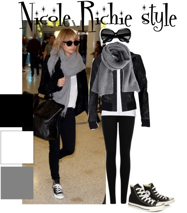 """""""Nicole Richie style"""" by kirsty2011dodgs ❤ liked on Polyvore"""
