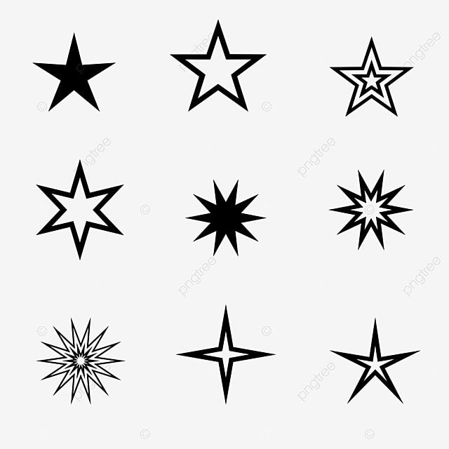 Black Star Star Clipart Five Pointed Star Star Decoration Png Transparent Clipart Image And Psd File For Free Download Star Clipart Star Background Clip Art