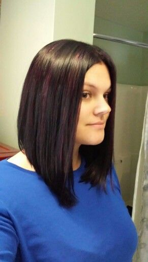 Bobs, Bangs and Purple on Pinterest