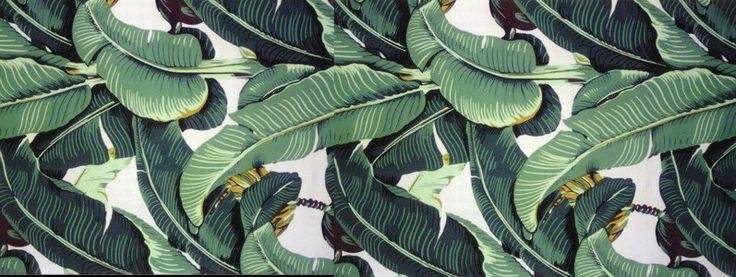 The Original Classic Martinique Banana Leaf Wallpaper