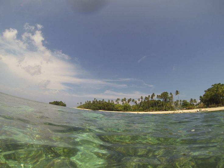 Kiriwina view from the water