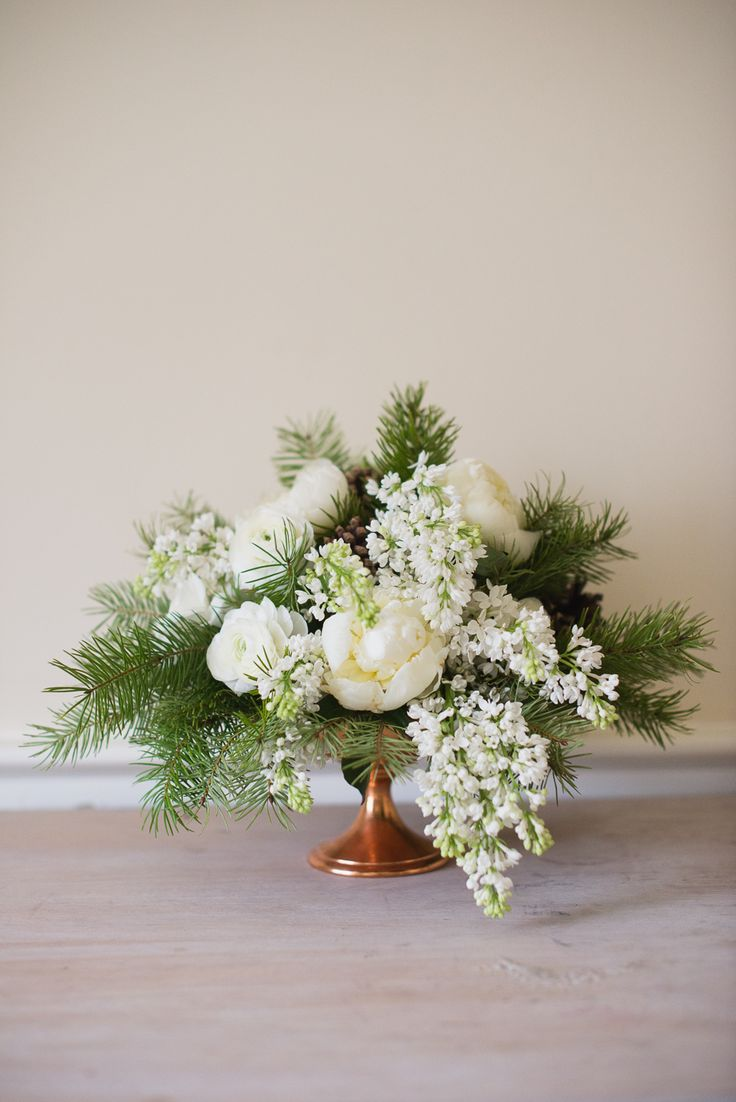 Event Flowers: Aspen Chic Rehearsal at Lincoln Restaurant in Washington, DC