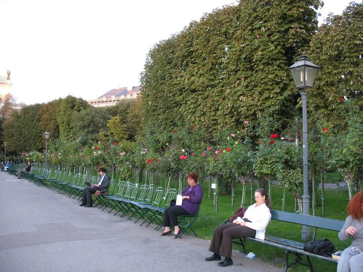 Австрия, Вена. Народный парк
