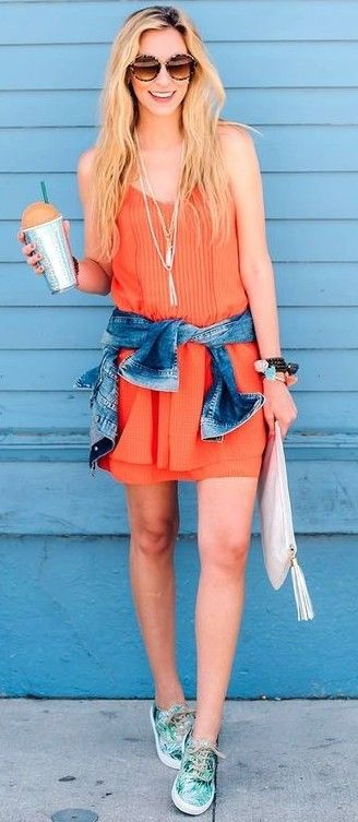 #summer #fashionistas #outfitideas | The Summer Slip Dress | A Pinch of Lovely