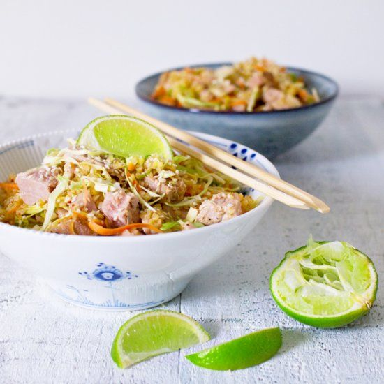 Tuna salad with spicy ingredients. (in Danish) | Favorite Recipes ...