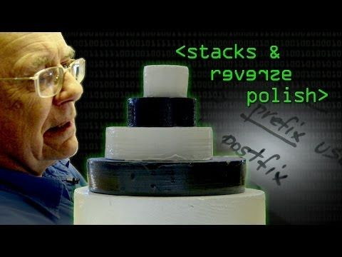 Reverse Polish Notation and The Stack - Computerphile - YouTube