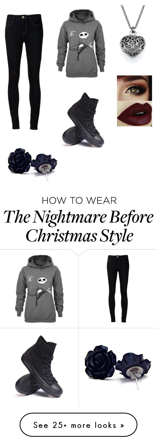 """""""gothica"""" by stacinr on Polyvore featuring Ström and Converse"""