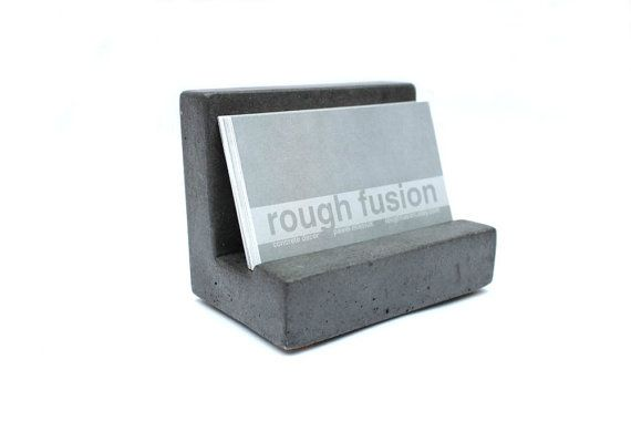 Hey, I found this really awesome Etsy listing at https://www.etsy.com/listing/128714942/concrete-business-card-holder