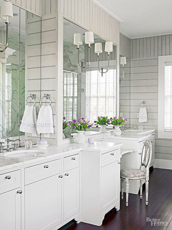 Sophisticated materials, wow-worthy amenities and an attention to detail launch these bathrooms in luxurious territory. Take a peek inside the spaces and bask in the beautiful designs.