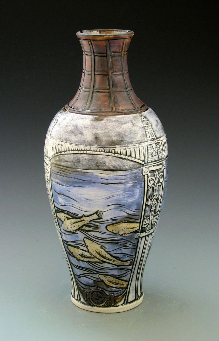 238 best calmwater designs stephanie young art pottery modern capca calmwater designs stephanie young cityworks boston vessels gallery porcelain vaseroyal doultonpottery reviewsmspy