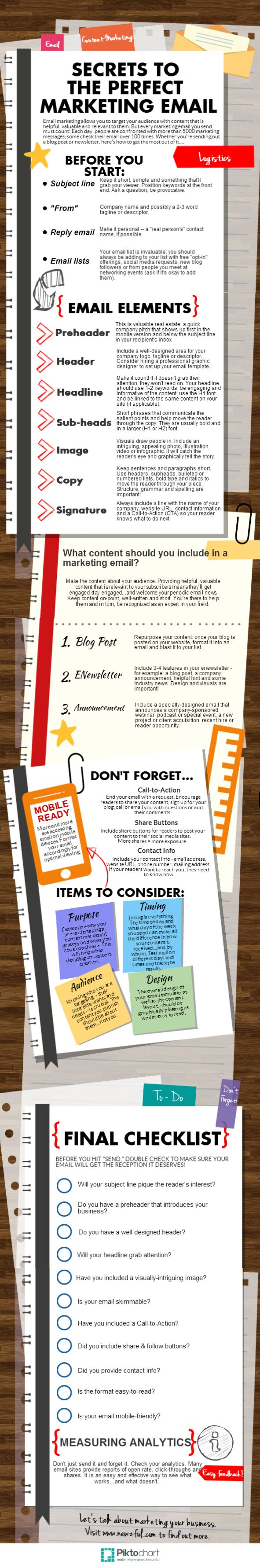 Secrets to the Perfect #Marketing #Email Repinned by Bethany at Sunrise Digital Marketing. www.sunrisedigitalmarketing.com Let Sunrise Digital Marketing create a web presence that reflects your business. With experience in creating websites that are appealing to visitors and search engines, we can bring your business online in style.